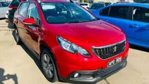 2017 Peugeot 2008 A94 MY17 Active Red 6 Speed Sports Automatic Wagon
