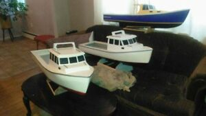 Model Kenny Johnston Fishing Boats, Make a Great Christmas gift!
