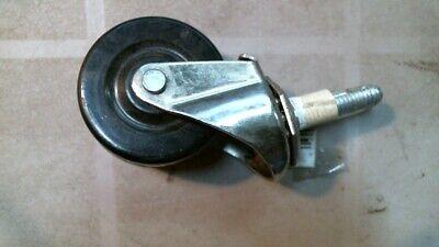 Shepherd 9194 3 Stem Caster Soft Rubber Wheel 38 Stem Free Shipping