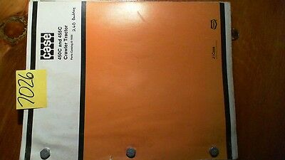 Case 450c 455c Crawler Tractor Parts Catalog Manual 8-1930-r3 287