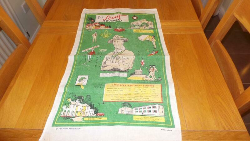 TB98: Early Scouts Tea Towel - The Scouts Movement