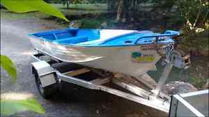 12 foot tinnie and registered trailer Mullumbimby Byron Area Preview