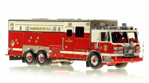 Washington DC 2018 Pierce Arrow Hazmat 1 1/50 Fire Replicas FR093 Brand New