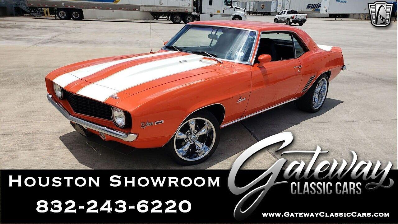 Orange 1969 Chevrolet Camaro  406 CID V8 Automatic Available Now!