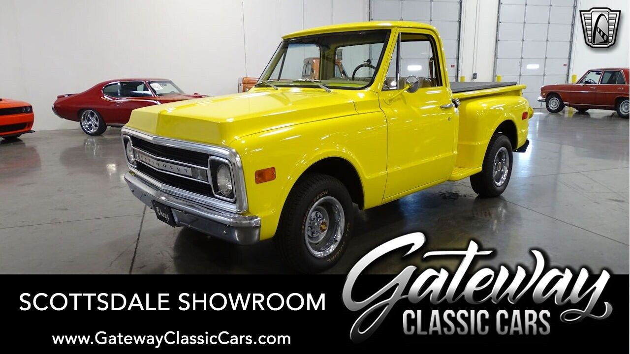 Yellow 1969 Chevrolet C10 Truck 350 CID V8 4 Speed Automatic Available Now!