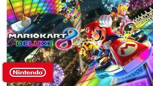 Mario kart 8 deluxe available Friday!!