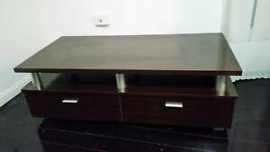 Strong Wooden TV Stand, modern look Chrome Finish legs, cheap Punchbowl Canterbury Area Preview