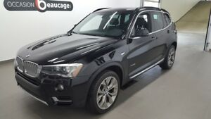2015 BMW X3 XDrive28i, cuir, toit panoramique, hitch VERY GOOD