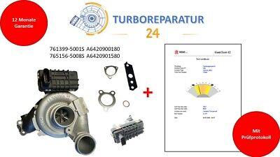 Turbolader Mercedes GLK 320 CDI  X203 170 kW 231 PS A6420900180 A6420901580