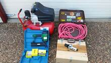 Toolex Air Compressor & Nailer, Nails, Hose & Regulator Armidale 2350 Armidale City Preview