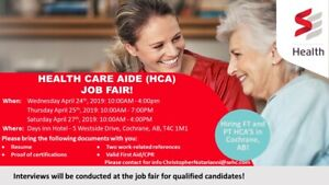 Health Care Aide | Find or Advertise Job Opportunities