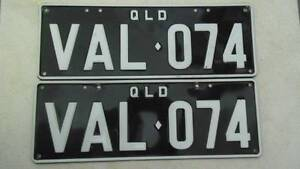 Personalised Plate VAL 074 - Valiant, Charger, Mopar, or Valerie Laceys Creek Pine Rivers Area Preview