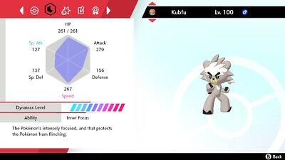 Kubfu and Gigantamax Urshifu 3 Pack Pokemon Sword/ Shield Isle of Armor DLC