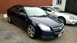 2008 Chevrolet Malibu LT sold AS TRADED, lady driven