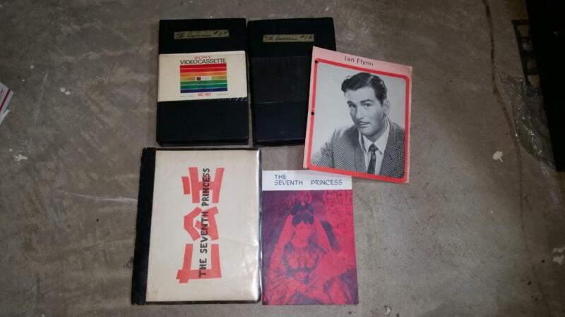 THE SEVENTH PRINCESS Movie Ian Flynn 2 Tapes and Brochure Korea Produced
