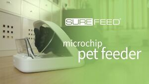 Microchip Pet Feeder (sure feed: 2 colours pink and gray)
