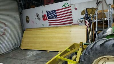 Vintage Bowling Alley Lane Shuffle Board Material 58 Thick Pickup Only Many Use