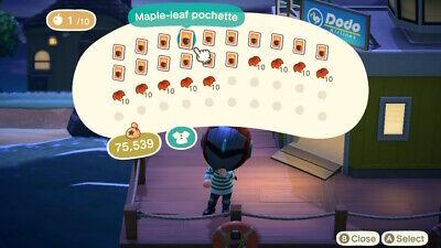 Animal Crossing: New Horizons DIY (FALL) Maple Leaf Set +90 Maple Leaves/Acorns