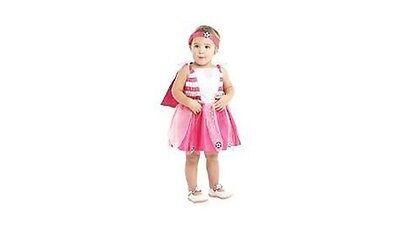 Baby Fußball Arsenal Fee Kostüm Hellrosa Fußball Outfit ()