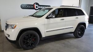 2011 Jeep Grand Cherokee Overland, groupe remorquage, toit ouvra