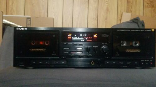 Sony TC-WR80ES Stereo Cassette Deck. {{{REFURBISHED}}}