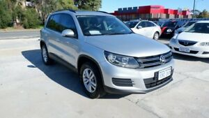 2013 Volkswagen Tiguan 5N MY14 118TSI DSG 2WD Silver 6 Speed Sports Automatic Dual Clutch Wagon St James Victoria Park Area Preview