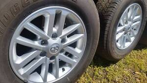 Toyota Hilux SR5******2015 Genuine Alloy wheels/rims with tyres Wandin East Yarra Ranges Preview