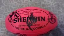 2009 Geelong Signed Football Sherrin Signed Gary Ablett Football Pascoe Vale South Moreland Area Preview