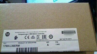 2020 New Sealed Allen-bradley Compactlogix 3 Mb Motion Controller 1769-l36erm