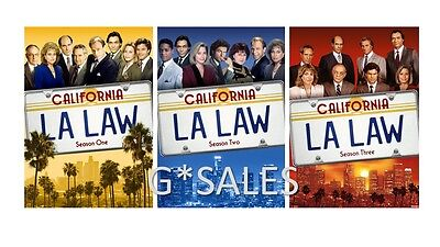 LA Law 1980's California TV Series Complete Season 1-3 (1 2 3) BRAND NEW DVD SET