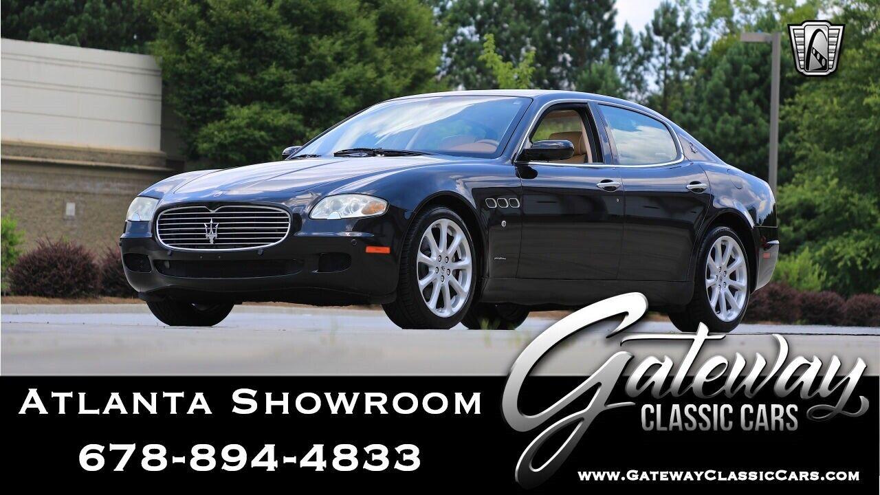 2005 Maserati Quattroporte M139 Black 2005 Maserati Quattroporte  Sedan 4.2L V8 6 Speed Automatic Available Now!