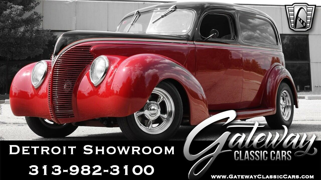 1939 Ford Sedan Delivery  Maroon & Black 1939 Ford Sedan Delivery Sedan 5.0 Liter V8 Automatic W/ Overdriv