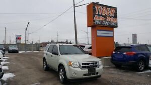 2009 Ford Escape XLT**LEATHER**SUNROOF**DUAL DVD**AS IS SPECIAL