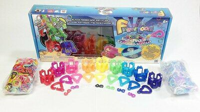Rainbow Finger Loom Rainbow Loom Party Pack with Glow Bands (ROO46B) ()