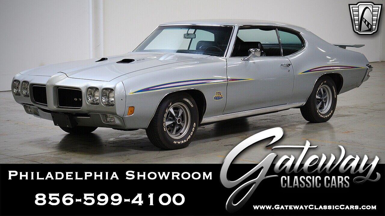 1970 Pontiac GTO Judge ilver 1970 Pontiac GTO  Coupe Numbers Matching 400 CID V8 4 Speed Manual Availa