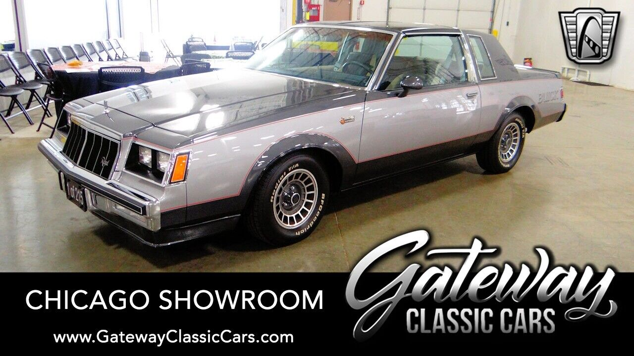 Silver 1982 Buick Regal Actual Miles, first one ever made 4.1L V6  4BL OHV 4 Spe