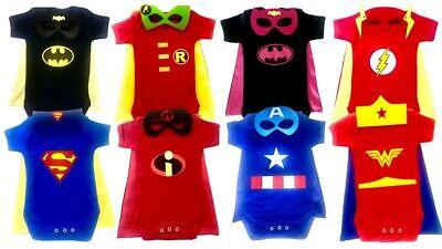 Superhero baby bodysuits supergirl batgirl marvel baby cosplay outfit costume](Superhero Baby Costume)