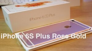 BRAND NEW IN BOX UNLOCKED IPHONE 6S PLUS 128GB ROSE GOLD