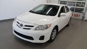 2013 Toyota Corolla CE, sièges chauffants, régulateur de vitesse