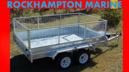 BRAND NEW 10 X 6 HOT DIP GAL, FULLY WELDED TANDEM BOX TRAILER!!! Allenstown Rockhampton City Preview