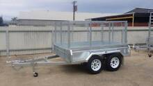 New 8x5 Galvanised Trailer with cage, spare wheel and 12 mths reg Welland Charles Sturt Area Preview