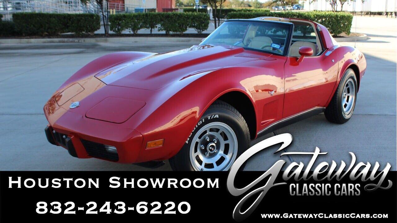1978 Red Chevrolet Corvette   | C3 Corvette Photo 1
