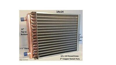 14x14 Water to Air Heat Exchanger 1