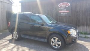 2010 Ford Escape Limited, 3.0L V6 4wd, Leather, Sunroof