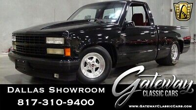 1990 Chevrolet C/K Pickup 1500 454SS Black 1990 Chevrolet C1500 Pick Up 502 CID V8 TH400 3 Speed Automatic Available