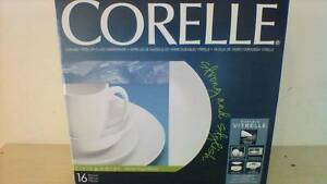 Corelle Livingware 16-Piece Dinnerware Set Made in USA Burwood Burwood Area Preview