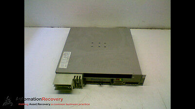 Comau Dps100hv Servo Power Supply Module Alt Id 10907180rem-007 156016