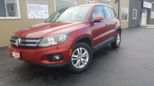2015 Volkswagen Tiguan AWD-BLUETOOTH-INFO SYSTEM-ALLOY WHEELS