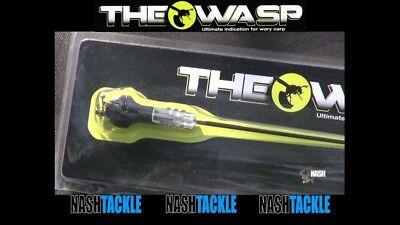 Nash The Wasp Indicator T4965 Carp Fishing Bite Alarm Swinger *Free Postage*