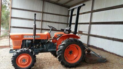 Kubota Tractor & Slasher